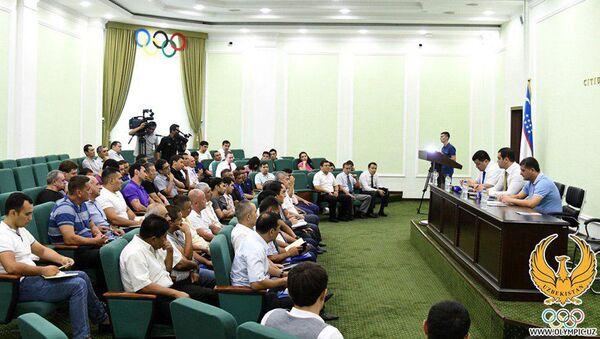 В НОК состоялась профилактическая беседа с руководителями федераций единоборств - Sputnik Узбекистан