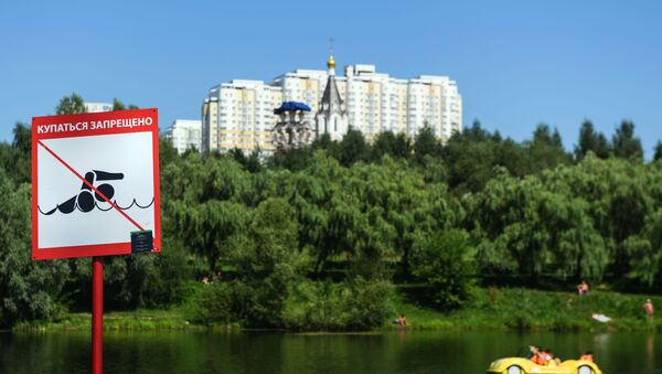 Otdыxayuщiye v landshaftnom parke Mitino - Sputnik Oʻzbekiston