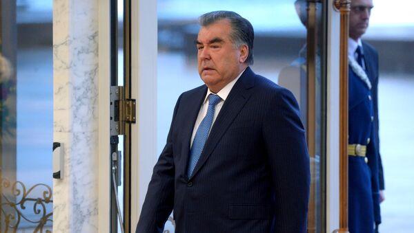 Эмомали Рахмон - Sputnik Узбекистан