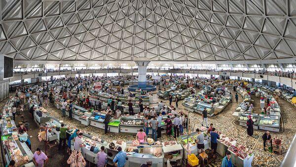 Дехканский рынок в Ташкенте - Sputnik Ўзбекистон