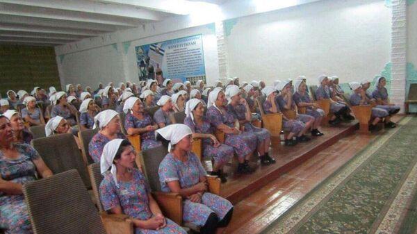 Женская исправительная колония в Ташкентской области - Sputnik Ўзбекистон