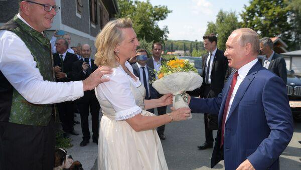 Prezident RF V. Putin posetil Avstriyu - Sputnik Oʻzbekiston