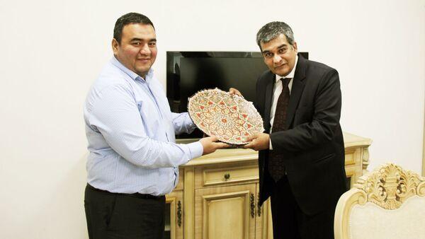 Основатель IRIS Business Service Limited Сваминатан Субраманиам  посетил УзРТСБ  - Sputnik Узбекистан