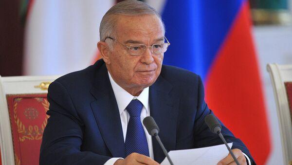 Prezident Uzbekistana Islam Karimov - Sputnik Oʻzbekiston