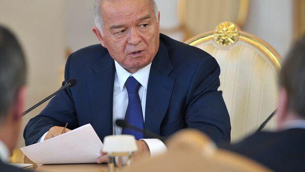 Oʻzbekiston Respublikasi Prezidenti Islom Karimov - Sputnik Oʻzbekiston