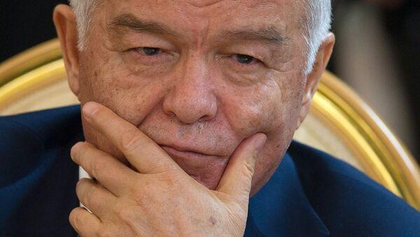 Президент Узбекистана Ислам Каримов - Sputnik Узбекистан