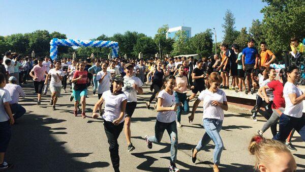 В Ташкенте массовый забег - Sputnik Узбекистан