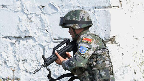 Antiterroristicheskiye ucheniya voorujennыx sil stran-chlenov SHOS Mirnaya missiya-2018 - Sputnik Oʻzbekiston