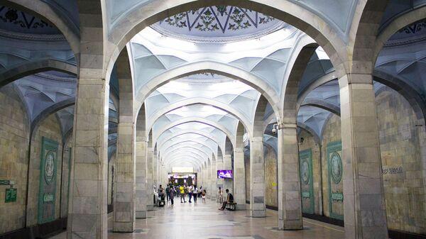 Станция Алишер Навои в Ташкентском метрополитене - Sputnik Узбекистан