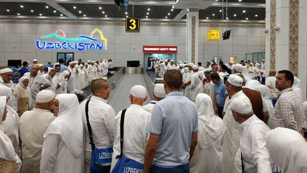 Из Саудовской Аравии вернулась первая группа узбекских паломников - Sputnik Ўзбекистон