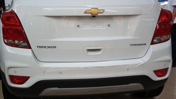 Автомобиль Chevrolet Tracker - Sputnik Ўзбекистон