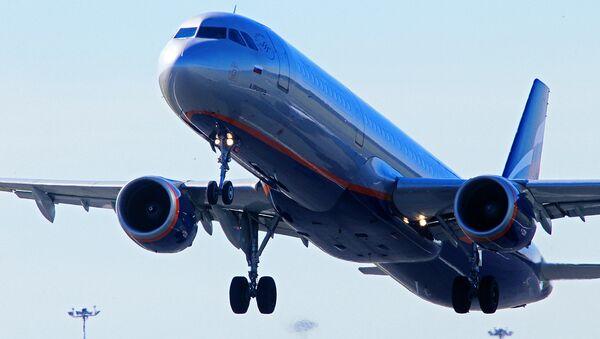 Самолет авиакомпании Аэрофлот - Sputnik Узбекистан