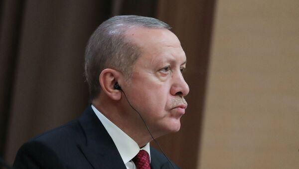 Prezident Turetskoy Respubliki Redjep Tayip Erdogan  - Sputnik Oʻzbekiston