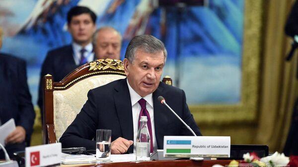 Shavkat Mirziyoyev vыstupil na sammite v Issыk-Kule - Sputnik Oʻzbekiston