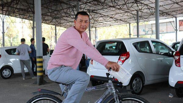 Акция GM Uzbekistan Автосалон под открытым небом - Sputnik Узбекистан