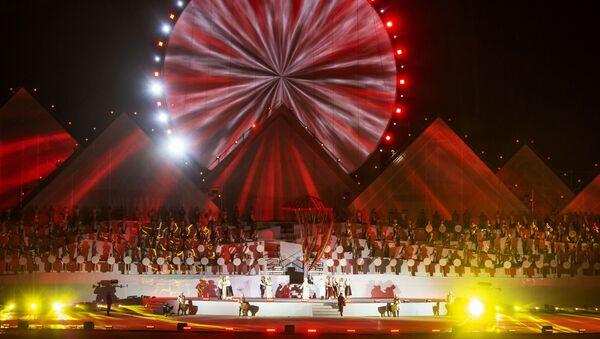 Церемония открытия III Всемирных игр кочевников - Sputnik Узбекистан