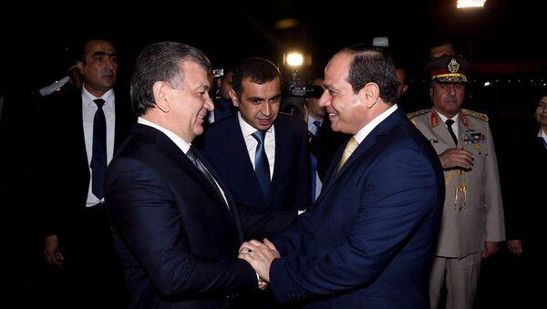Президент Египта прибыл в Ташкент - Sputnik Ўзбекистон