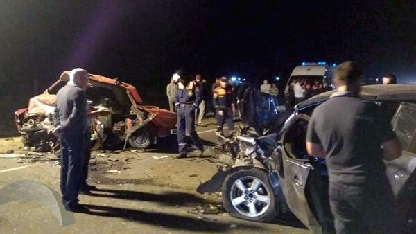 Авария под Липецком в которой погибли 5 человек - Sputnik Ўзбекистон