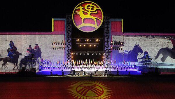 Закрытие Всемирных игр кочевников в Кыргызстане - Sputnik Узбекистан
