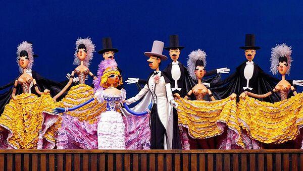 Декорации спектакля Необыкновенный концерт театра кукол С.В. Образцова - Sputnik Узбекистан