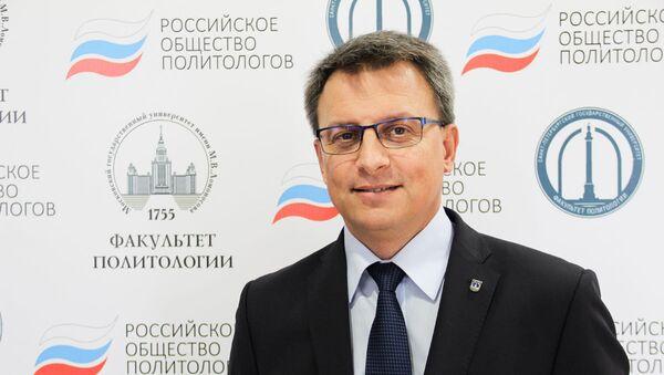Исполнительный директор Российского общества политологов - Игорь Кузнецов - Sputnik Узбекистан