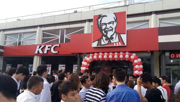 Первый KFC открывается в Ташкенте в сентябре - Sputnik Ўзбекистон