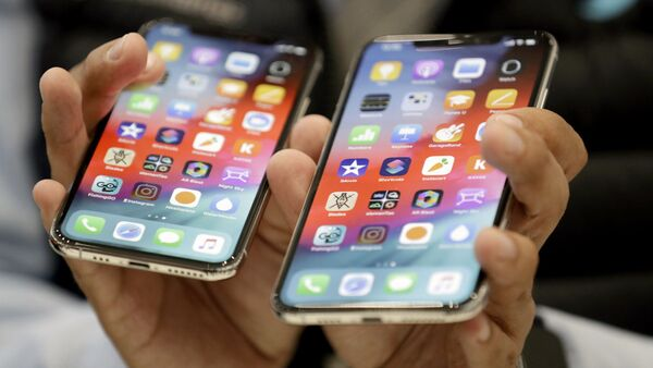 Презентация нового iPhone Xs и iPhone Xs Max - Sputnik Ўзбекистон