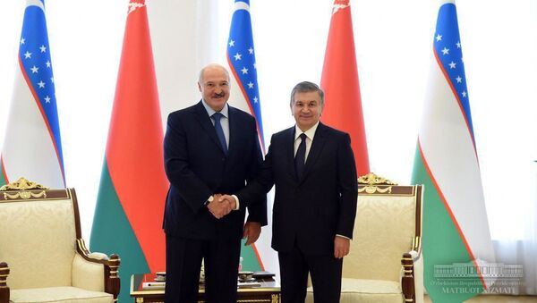 Президент Узбекистана Шавкат Мирзиёев и президент Беларуси Александр Лукашенко - Sputnik Ўзбекистон