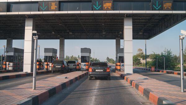 Платная дорога Душанбе – Чанак в Таджикистане - Sputnik Ўзбекистон