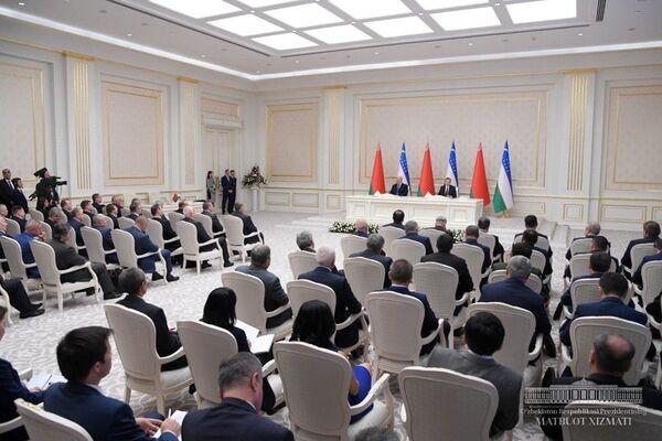 Визит президента Республики Беларусь в Узбекистан - Sputnik Узбекистан