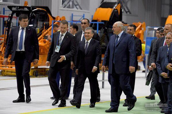 Состоялось официальное открытие совместного предприятия Амкодор-Агротехмаш - Sputnik Узбекистан