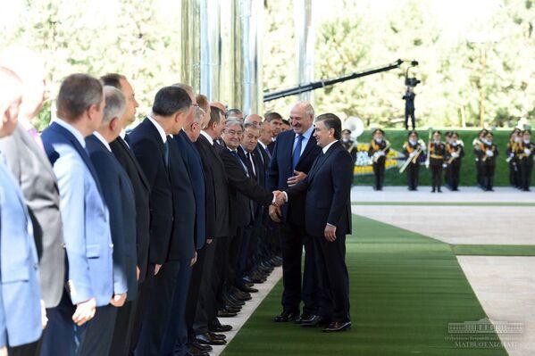 Визит президента Беларуси Александра Лукашенко в Узбекистан - Sputnik Узбекистан