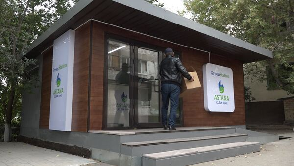 Деньги за мусор: как работает новый пункт приема отходов в Астане - Sputnik Узбекистан