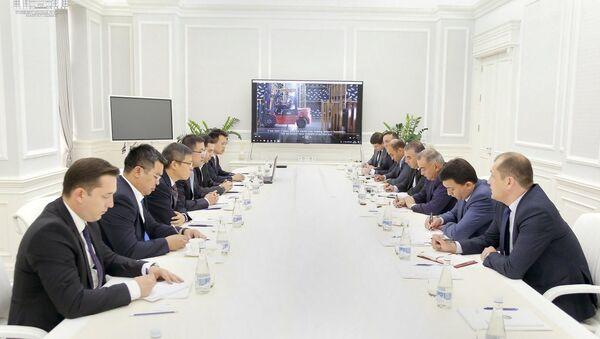 Совещание Holley в хокимияте Ташкента - Sputnik Узбекистан