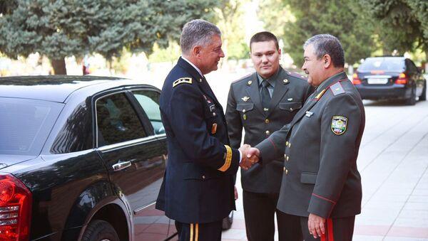 Абдусалом Азизов встретил военную делегацию Национальной гвардии США - Sputnik Ўзбекистон