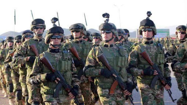 Начало совместных узбекско-таджикских военных учений в Согдийской области - Sputnik Ўзбекистон