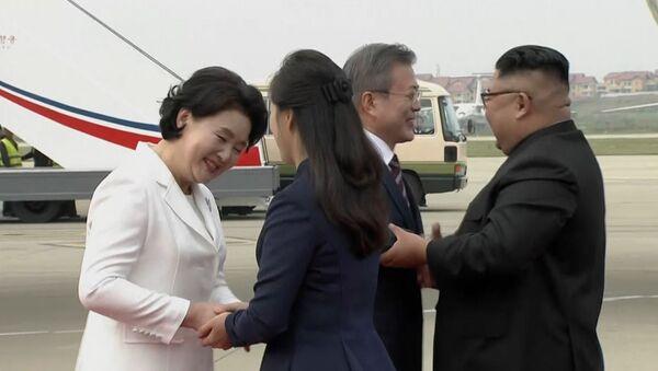 Встреча лидеров КНДР и Южной Кореи - Sputnik Ўзбекистон