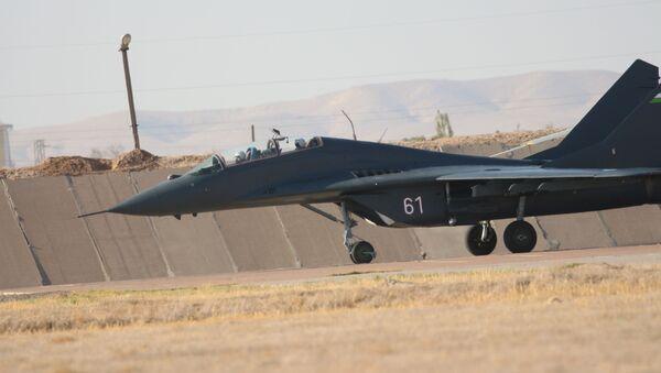 Миг-29 на аэродроме Ханабад - Sputnik Ўзбекистон