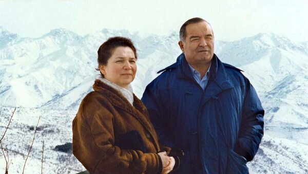 Islam Karimov s suprugoy Tatyanoy Karimovoy - Sputnik Oʻzbekiston