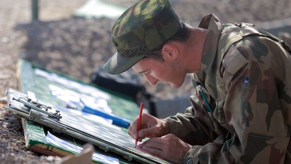 Совместные военные учения Узбекистана и Таджикистана - Sputnik Ўзбекистон