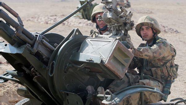 Совместные военные учения Узбекистана и Таджикистана - Sputnik Узбекистан