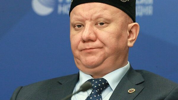 Глава Духовного собрания мусульман России Альбир Крганов   - Sputnik Узбекистан