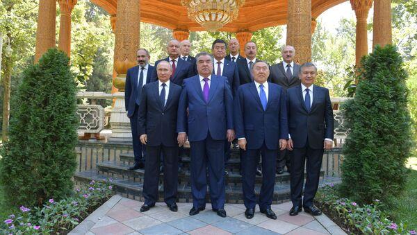 Заседание Совета глав государств СНГ в Душанбе - Sputnik Ўзбекистон