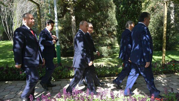 Заседание Совета глав государств СНГ в Душанбе - Sputnik Узбекистан