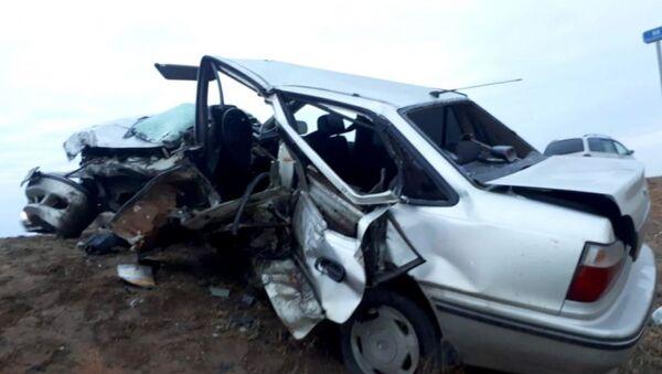 Uzbekistanets pogib v DTP iz-za korovы v Astraxani - Sputnik Oʻzbekiston
