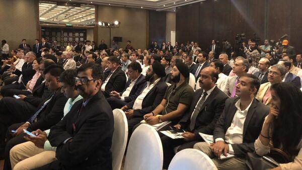 Участники узбекско-индийского бизнес-форума в Дели - Sputnik Ўзбекистон