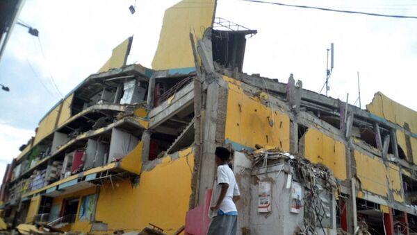 SPUTNIK_ Posledstviya zemlyatreseniya i tsunami v Indonezii - Sputnik Oʻzbekiston