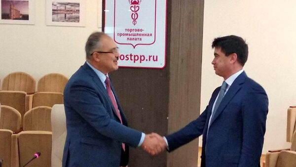Delegatsiya xokimiyata i predprinimateley Tashkenta zaklyuchayet kontraktы v Moskve - Sputnik Oʻzbekiston