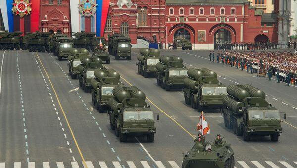 Военный парад, посвященный 66-летию Победы в ВОВ - Sputnik Ўзбекистон