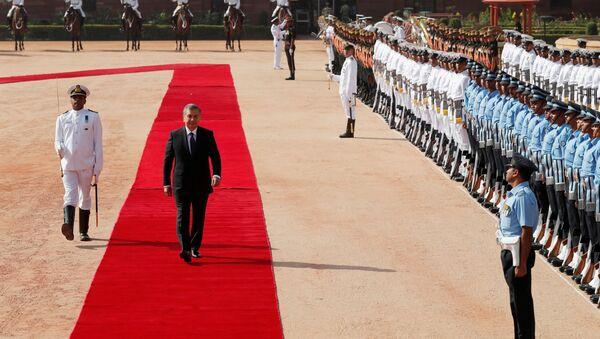 Визит президента Узбекистана Шавката Мирзиёева в Индию - Sputnik Узбекистан